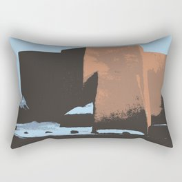 St Francis de Asis Take Two Rectangular Pillow