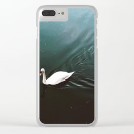 Swan Lake Clear iPhone Case