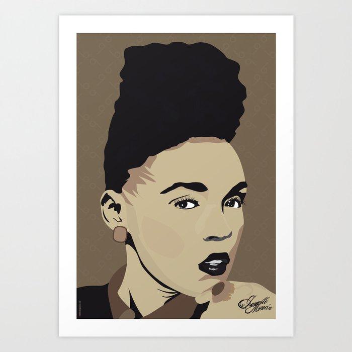 Janelle Monae - Portrait