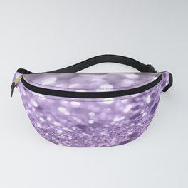 Purple Lavender Glitter #1 #shiny #decor #art #society6 Fanny Pack