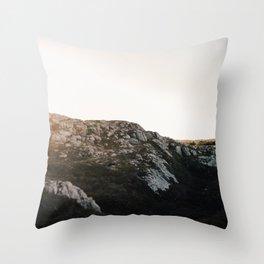 Fogo Island Landscape Throw Pillow
