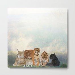 Cat Ageis Metal Print