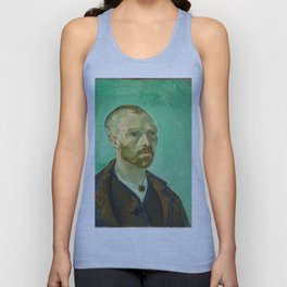 Self Portrait dedicated to Paul Gauguin by Vincent Van Gogh Unisex Tank Top