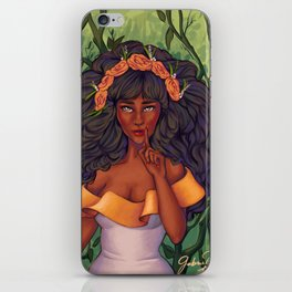 Dulcea Serrao iPhone & iPod Skin