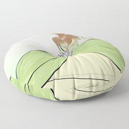 Princess Tiana. Floor Pillow