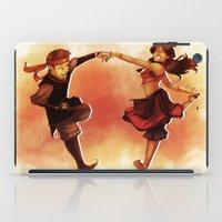 aang iPad Cases featuring Kataango Fire by TiuanaRui