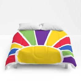 Colourful Sun Ray Burst Comforters