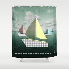 boat-full Shower Curtain