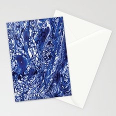 Marble Blue Stationery Cards