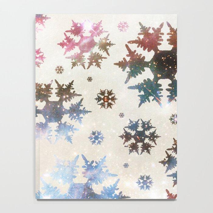 Star Snow Notebook