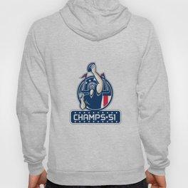 Football Champs 51 New England Retro Hoody