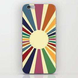 Sun Retro Art II iPhone Skin