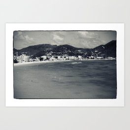 Old-New St. Maarten Art Print