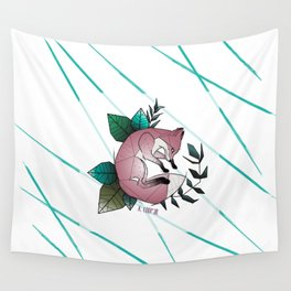 Graphic Fox A. Coop3r Wall Tapestry