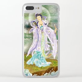 Malang Guanyin Clear iPhone Case