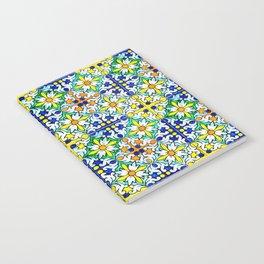 Spanish Flower Fantasy Notebook