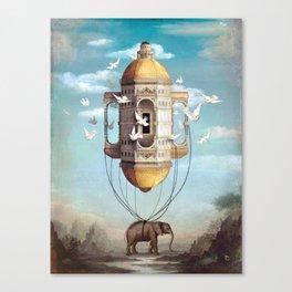 Imaginary Traveler Canvas Print