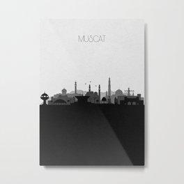 City Skylines: Muscat Metal Print