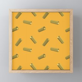 pasta rigatoni Framed Mini Art Print
