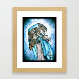 Super Chouette Framed Art Print