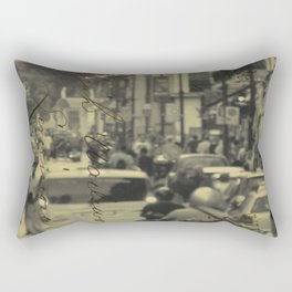 Sorrento street postcard Rectangular Pillow