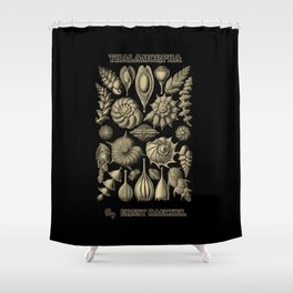 """""""Thalamorpha"""" from """"Art Forms of Nature"""" by Ernst Haeckel Shower Curtain"""