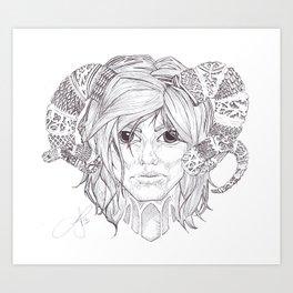 Susan Art Print