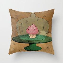 - Winter Cupcake - Throw Pillow