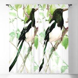 Magpie Bird, magpie Blackout Curtain