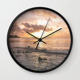 Caribbean Sea, Mayan Riviera Wall Clock