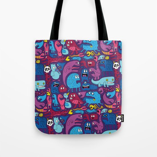 Mo' Monsters Mo' Problems Tote Bag