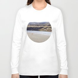 In the middle of nowhere, Iceland Long Sleeve T-shirt
