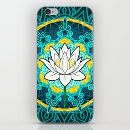 Lotus Flower Mandala iPhone Skin