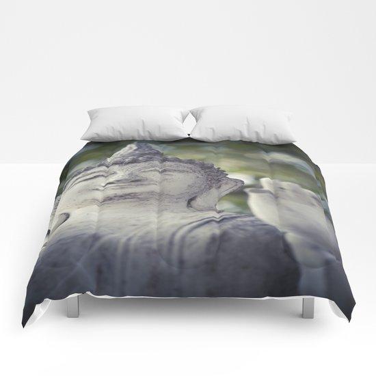 BUDDHA IN SUKHOTHAI II Comforters