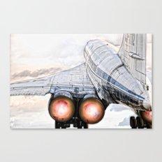 lift off Tu-144 Canvas Print