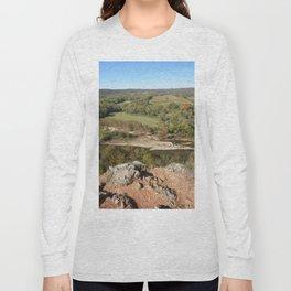 Sparrowhawk Mountain Series, No. 5 Long Sleeve T-shirt