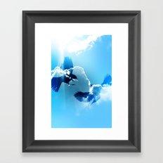 Sky Flight Framed Art Print