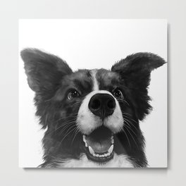 who's a good boy? Metal Print