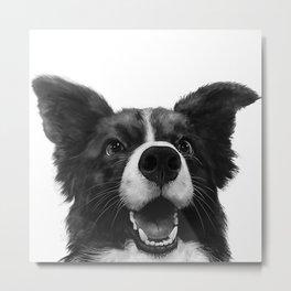 who's a good boy? Metal Print