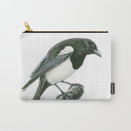 Magpie ink painting Carry-All Pouch