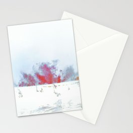 Flaming Sea Stationery Cards