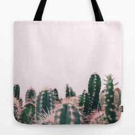 Pink Blush Cactus Tote Bag