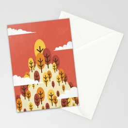 Goodbye Summer, Hello Fall Stationery Cards