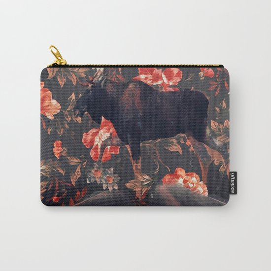 Frolal moose Carry-All Pouch