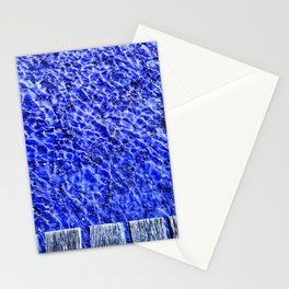 Water blue, Annecy Stationery Cards
