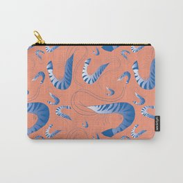 Blue Riviera Prawns Carry-All Pouch