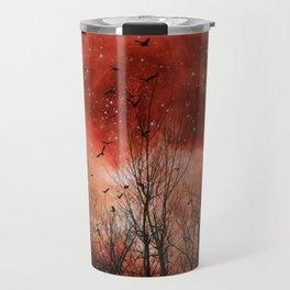 Red Night Travel Mug