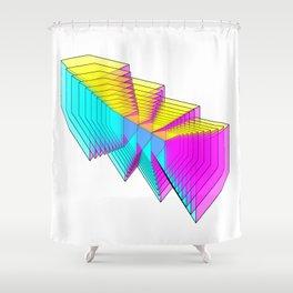 Cubes 4 Shower Curtain