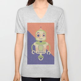 Rob-Bot02 Unisex V-Neck