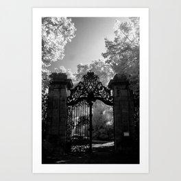 Big Gates Art Print